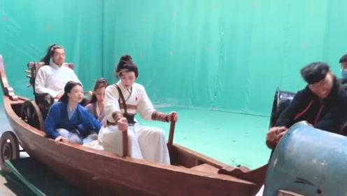 佩服中国小鲜肉演员的演技了,看剧务摇船也能不笑场