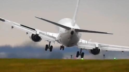 飞机降落失事有多可怕?镜头记录下全过程,看完都不敢坐飞机了!