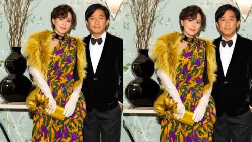 刘嘉玲54岁生日晒美照,梁朝伟视角她笑容灿烂,满脸幸福超甜蜜