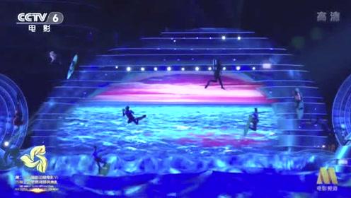 海南国际电影节开场秀解锁无人机新玩法:把大海搬到舞台上
