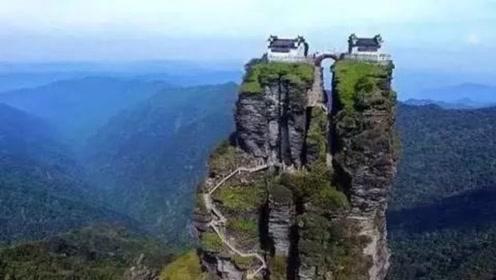 中国最危险的寺庙,建在2493米的悬崖顶上,是怎么建造的?