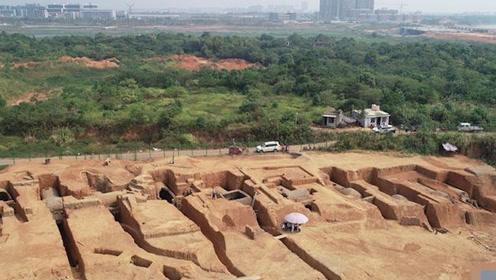 江西发现国内罕见的七星堆六朝墓群