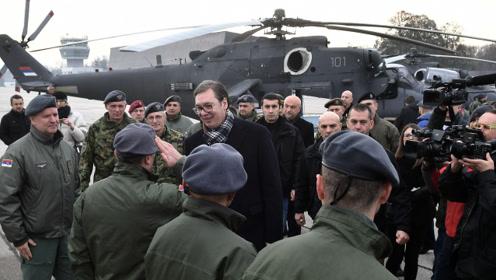 左右逢源,塞尔维亚军队同时接收一批西方和俄罗斯直升机