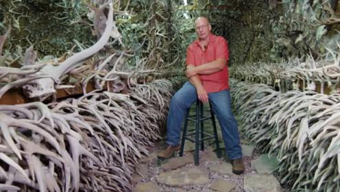 国外男子捡垃圾50年,如今成了富豪,网友:他是大自然收藏家