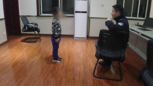 单亲妈妈盗窃被抓,6岁小孩独留家中,民警举动亮了