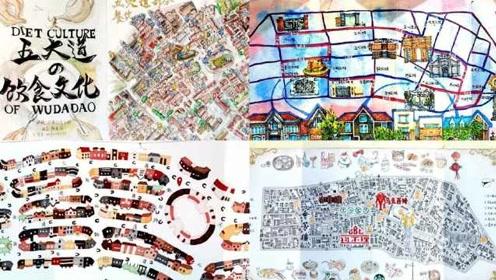 天大巧手建院开展!学生1:500建五大道模型、绘地图