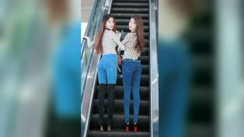 魔鬼身材的双胞胎小姐姐,你喜欢上了哪个?