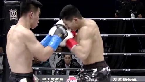 这位中国拳手不得了,防守的同时还能给对手连续重击,厉害了