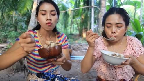 如何制作猪尾骨汤,越南小姐姐来教你,不仅美味还有营养