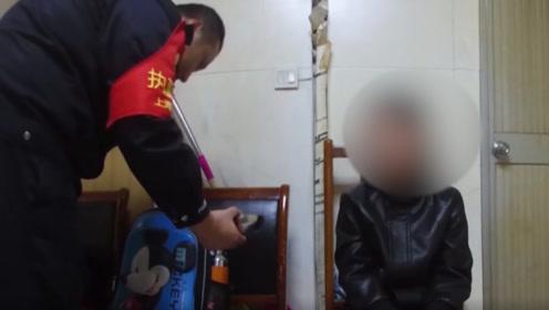 亲爹!上海十岁男孩因不写作业,被亲爹送火车站要饭还留个碗