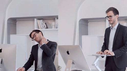 办公室里的变形金刚,18种姿势任你选择