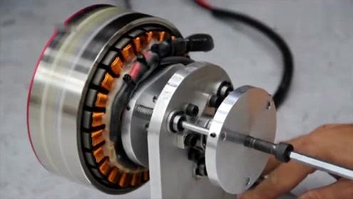 长见识了,原来电动车电机是这样工作的,你看懂了原理了吗?