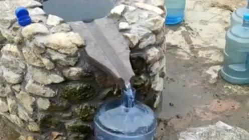 俺们村,一年四季都喝这里的水