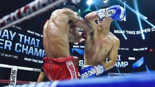 """中国""""肘王""""成名一战,一晚连续三次肘杀KO,豪夺冠军!"""