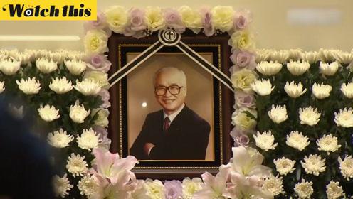 韩国商界神话金宇中去世 各大商·政界人士前来追悼