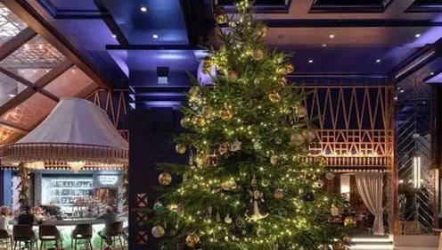 1190万英镑!全球最贵圣诞树亮相,一只鸸鹋蛋890万英镑