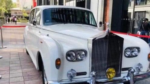 林志玲的婚车有多牛?全球仅三辆,后座的4个字彰显它的尊贵