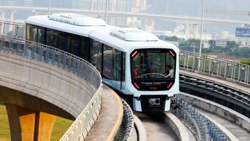 澳门首条轻轨线通车 海外网友:好想去看看