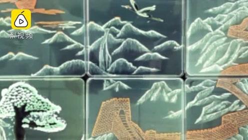 脑洞大开!大学生用真菌画出松鹤长城,展示微观世界之美