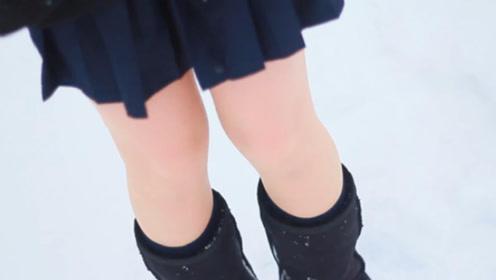 为什么日本女生冬天都光着腿,难道她们都不怕冷的吗?