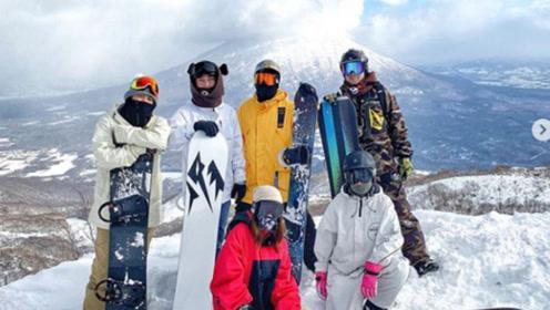 王思聪时隔近两个月更新社交网 晒滑雪照懒理风波