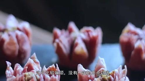 李子柒骑马去采花做出5种绝世美食:世间唯鲜花与美食不可辜负
