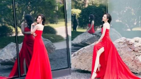 圣诞红也能穿出高级时髦感,艳丽张扬个性足,难怪允儿杨幂都爱它