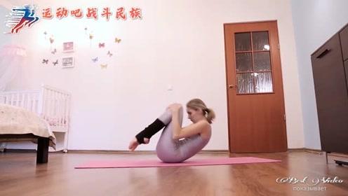 """四步学会""""翻跟头""""!俄罗斯瑜伽达人的方法简单又快速"""