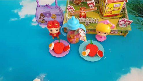 猪猪侠海绵宝宝的机器人玩具魔术盒 益智小玩具