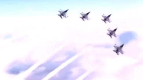 震撼!中国战机宣传片场面震撼 尖端战机齐飞