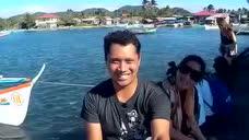 夏日Palaui岛,菲律宾卡加延圣安娜