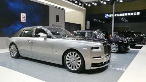 世界上最好的车,第八代劳斯莱斯幻影亮相广州车展
