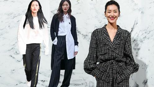 试试刘雯的双色穿衣法 轻松穿出高级时髦感