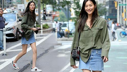 刘雯穿搭套路全线揭秘 想时髦你也可以这样穿