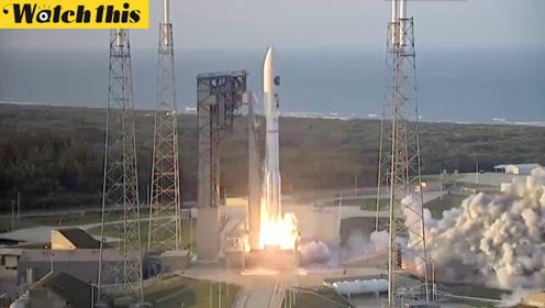 Atlas V 551发射AFSPC-11军事卫星 发射升空过程全纪录