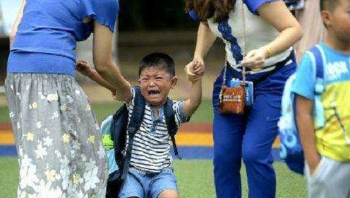 家里孩子哭闹不愿上幼儿园,只需家长做这样一件小事就能解决!