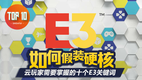 是大腿TOP10 #28:如何假装硬核,云玩家需要掌握的十个E3关键词