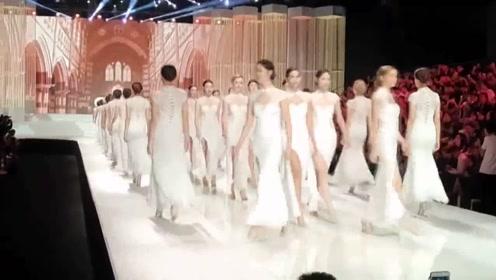 国际超模旗袍秀太惊艳