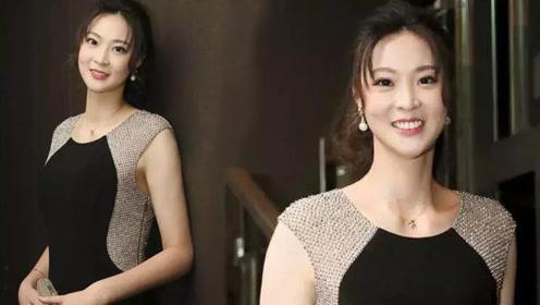惠若琪穿高跟鞋参加活动,颜值身材均在线!网友:秒杀一众超模