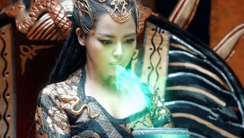 斗破苍穹:辛芷蕾为保护萧炎现出蟒蛇真身,萧炎泪流满面:对不起