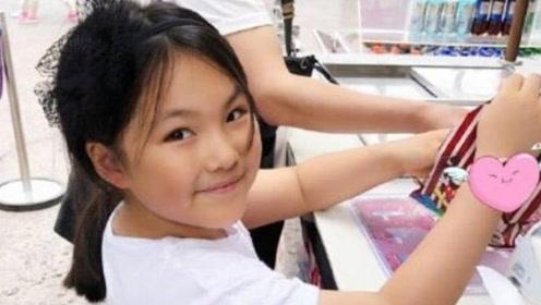 9岁王诗龄少女味初显 瘦身成功后颜值赶超妈妈李湘