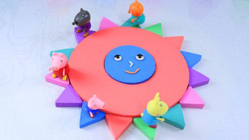 太空沙手工diy 制作一个可爱的小太阳