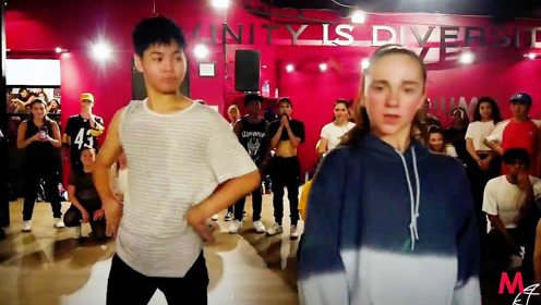 Millennium舞室 Sean&Kaycee客串Tricia 帅气编舞 Plain Jane