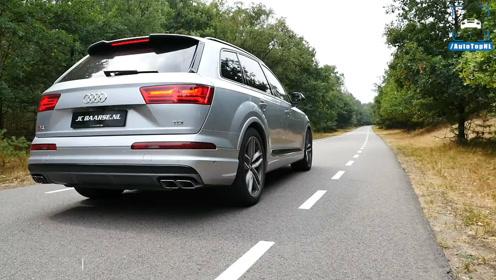奥迪Audi SQ7 TDI弹射起步一刻,这性能超跑都汗颜!