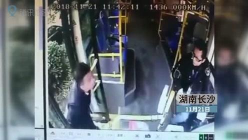 公交车被小汽车挡住去路 驾驶员鸣喇叭后起身提醒遭抡拳殴打
