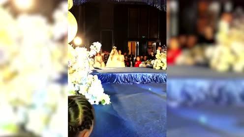 新娘一开口简直天籁,还以为张韶涵来了!