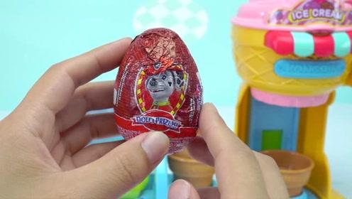 《奇奇和悦悦的玩具》精灵球里出现了一个美人鱼版汪汪队人偶