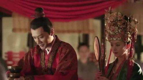 """太般配了!赵丽颖冯绍峰""""修成正果""""古装婚礼超美"""