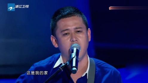 农民工小伙翻唱《天堂》没唱两句,刘欢直接看呆了,有故事!
