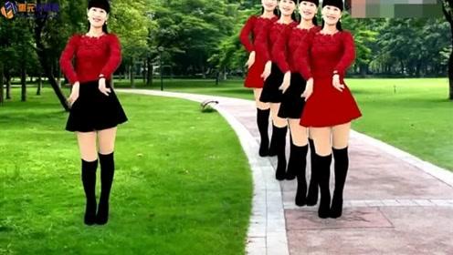 32步广场舞《爱的相遇》情歌演唱:王建荣 附分解教学 很容易学会
